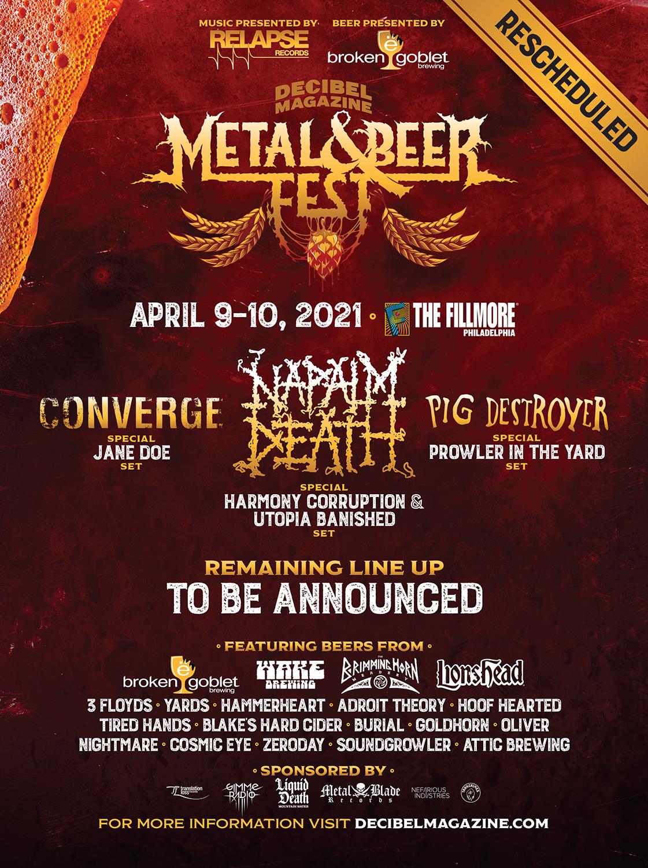 Best Death Metal Albums 2021 Decibel Magazine Metal & Beer Fest: Philadelphia | Decibel Magazine