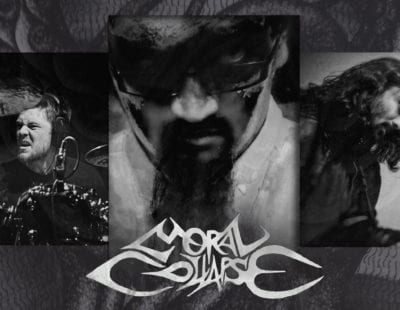 Moral Collapse band photo